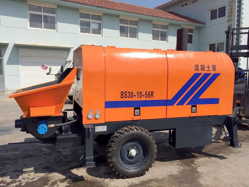 BS30 mini concrete pump