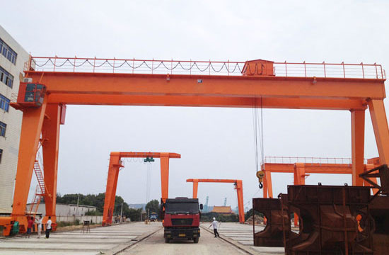 A Frame Double Girder Gantry Crane