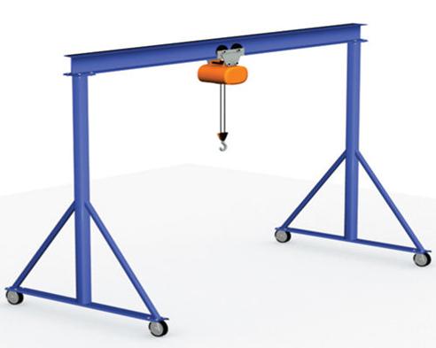 Ellsen frame gantry crane