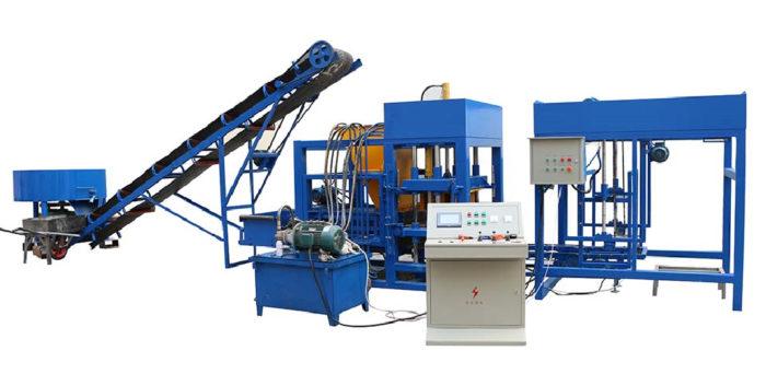 QT4-25 cement block making machine